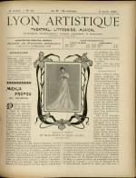LYON ARTISTIQUE, Deuxième Année - N°14
