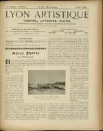 LYON ARTISTIQUE, Deuxième Année - N°18