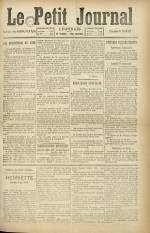 Le Petit Journal, , pp. 1