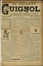LE JOURNAL DE GUIGNOL, Vingt-Neuvième Année - N°14
