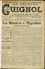 LE JOURNAL DE GUIGNOL , Vingt-Neuvième Année - N°17