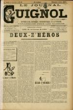 LE JOURNAL DE GUIGNOL , Vingt-Neuvième Année - N°22