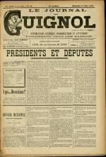 LE JOURNAL DE GUIGNOL , Vingt-Neuvième Année - N°25