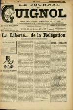 LE JOURNAL DE GUIGNOL , Vingt-Neuvième Année - N°29