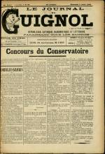 LE JOURNAL DE GUIGNOL , Vingt-Neuvième Année - N°31