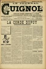 LE JOURNAL DE GUIGNOL , Vingt-Neuvième Année - N°32