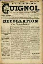 LE JOURNAL DE GUIGNOL , Vingt-Neuvième Année - N°34