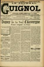 LE JOURNAL DE GUIGNOL , Vingt-Neuvième Année - N°35