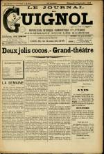 LE JOURNAL DE GUIGNOL , Vingt-Neuvième Année - N°36