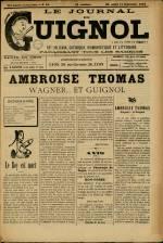 LE JOURNAL DE GUIGNOL , Vingt-Neuvième Année - N°37