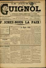 LE JOURNAL DE GUIGNOL , Vingt-Neuvième Année - N°39