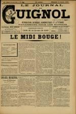 LE JOURNAL DE GUIGNOL , Vingt-Neuvième Année - N°41