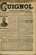 LE JOURNAL DE GUIGNOL, VINGT-NEUVIEME Année Nouvelle série - N°50
