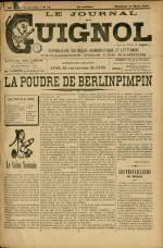 LE JOURNAL DE GUIGNOL, Trentième Année - N°11