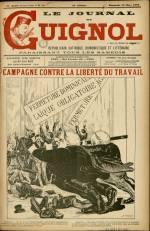LE JOURNAL DE GUIGNOL , Trente-Unième Année - N°13