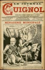 LE JOURNAL DE GUIGNOL , Trente-Unième Année - N°16