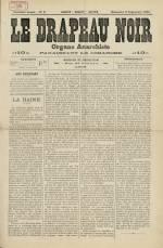 LE DRAPEAU NOIR, Première Année - N°5