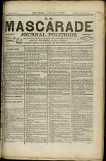 LA MASCARADE, Deuxième Année - N°53