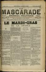 LA MASCARADE, Deuxième Année - N°57