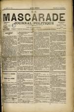 LA MASCARADE, Troisième Année - N°138