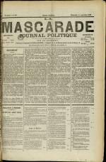 LA MASCARADE, Cinquième Année - N°240