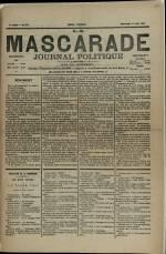 LA MASCARADE, Cinquième Année - N°235
