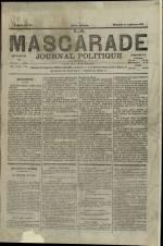 LA MASCARADE, Cinquième Année - N°242