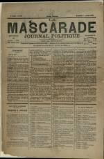 LA MASCARADE, Cinquième Année - N°243