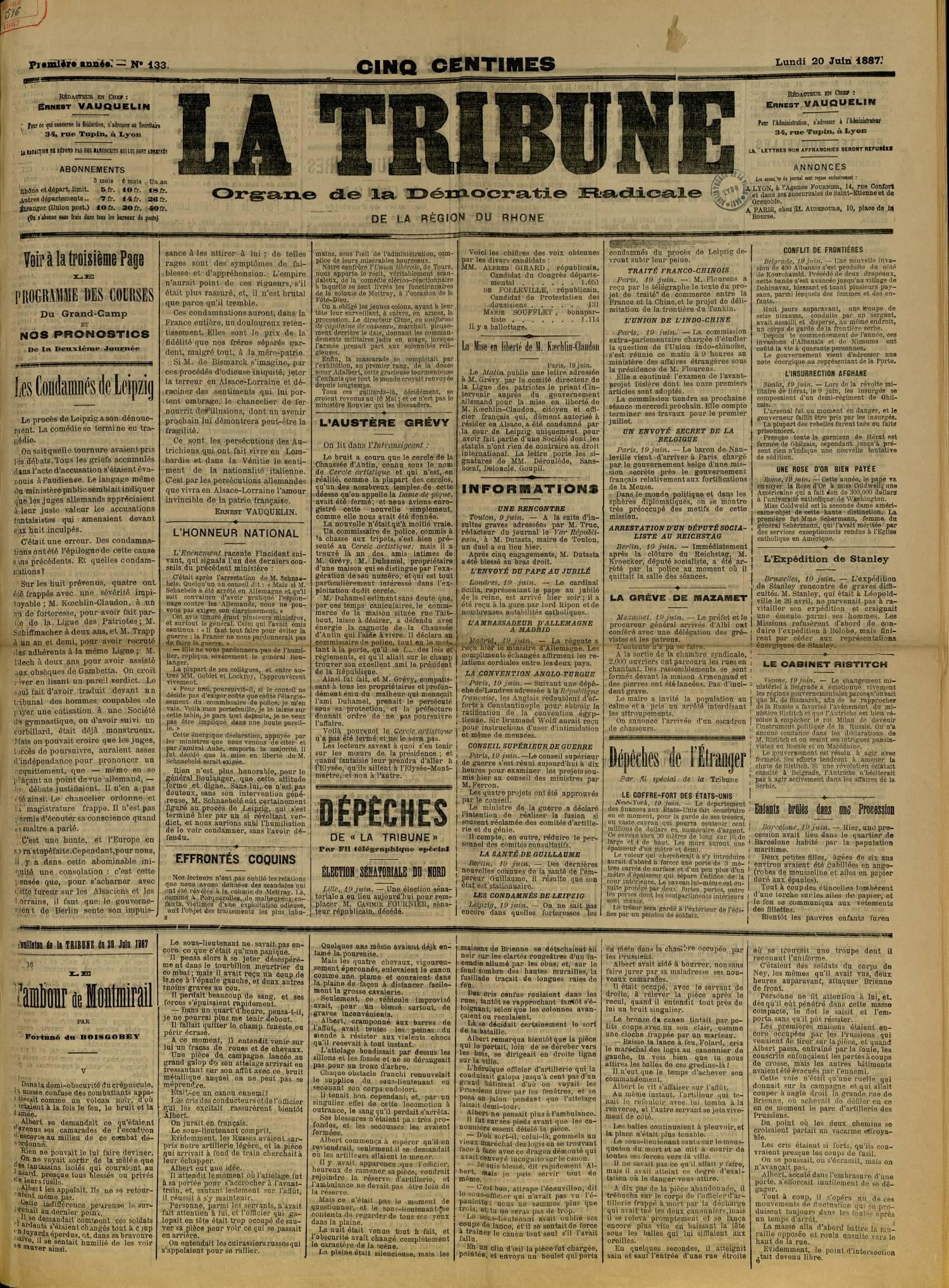 Contenu textuel de l'image : L'HONNEUR NATIONAL