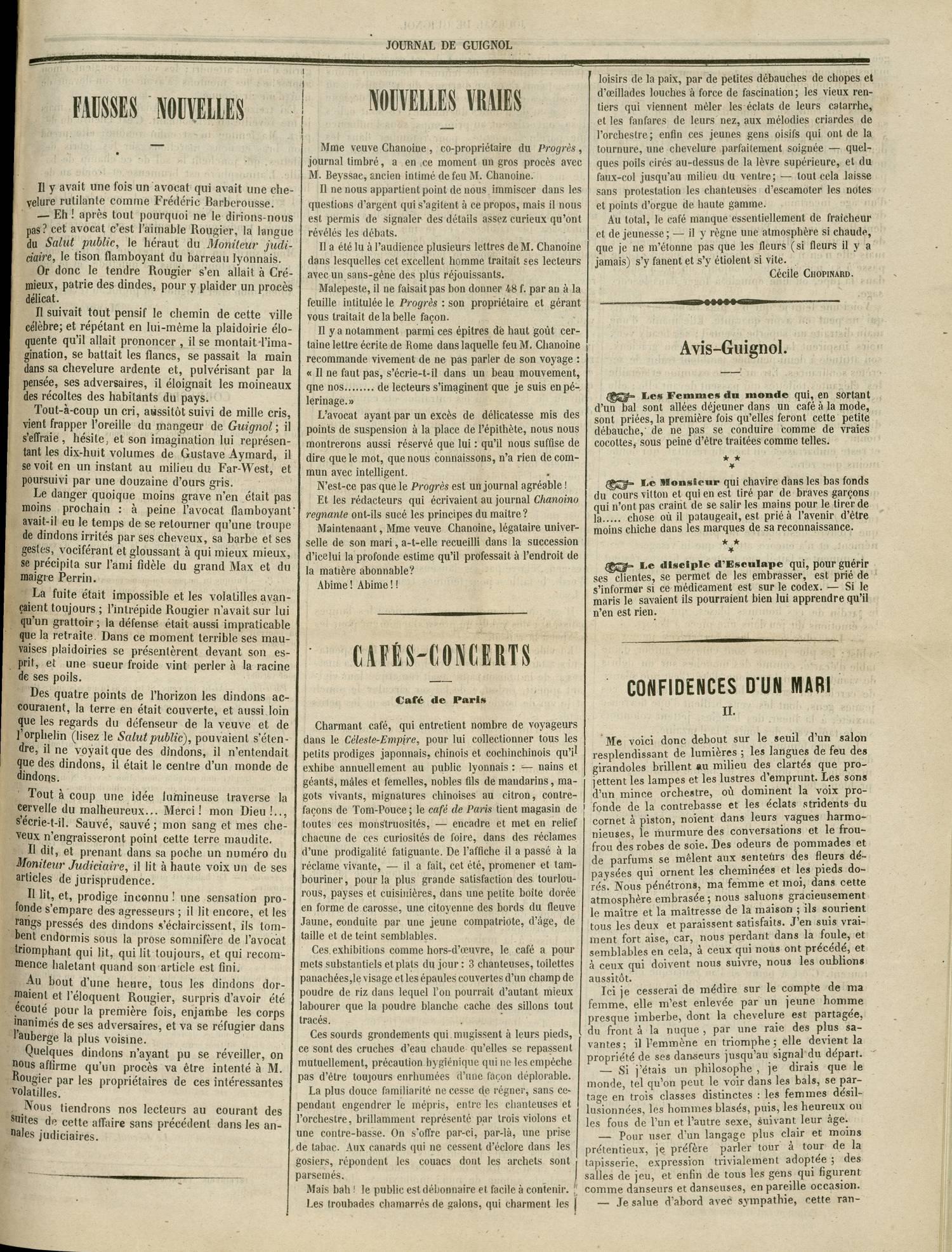 Contenu textuel de l'image : CONFIDENCES D'UN MARI