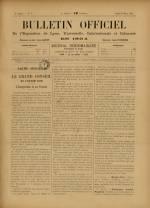 BULLETIN OFFICIEL DE L'EXPOSITION DE LYON, Première Année - N°7