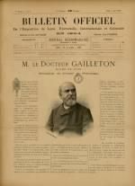 BULLETIN OFFICIEL DE L'EXPOSITION DE LYON, Première Année - N°8