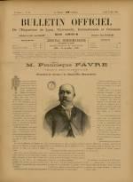 BULLETIN OFFICIEL DE L'EXPOSITION DE LYON, Première Année - N°13