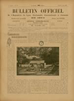 BULLETIN OFFICIEL DE L'EXPOSITION DE LYON, Première Année - N°27