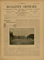 BULLETIN OFFICIEL DE L'EXPOSITION DE LYON, Première Année - N°28