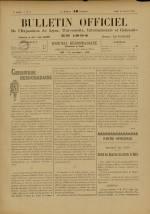BULLETIN OFFICIEL DE L'EXPOSITION DE LYON, Deuxième Année - N°3