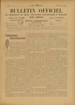 BULLETIN OFFICIEL DE L'EXPOSITION DE LYON, Deuxième Année - N°6