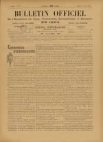 BULLETIN OFFICIEL DE L'EXPOSITION DE LYON, Deuxième Année - N°7