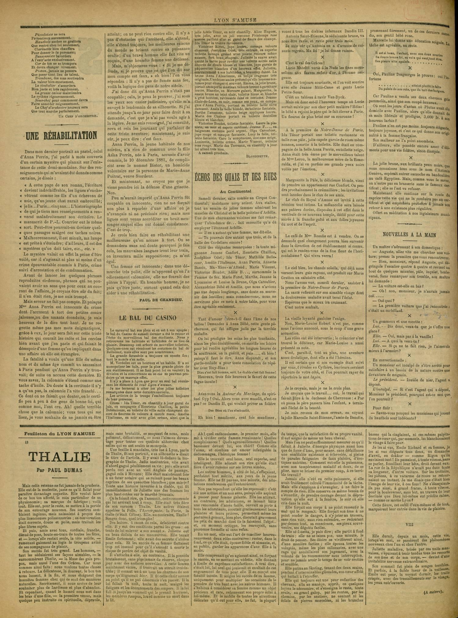 Contenu textuel de l'image : LE BAL DU CASINO