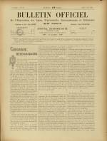 BULLETIN OFFICIEL DE L'EXPOSITION DE LYON, Deuxième Année - N°18