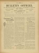 BULLETIN OFFICIEL DE L'EXPOSITION DE LYON, Deuxième Année - N°19
