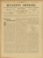 BULLETIN OFFICIEL DE L'EXPOSITION DE LYON, Deuxième Année - N°22
