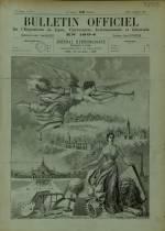BULLETIN OFFICIEL DE L'EXPOSITION DE LYON, Deuxième Année - N°1