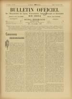 BULLETIN OFFICIEL DE L'EXPOSITION DE LYON, Deuxième Année - N°36