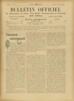 BULLETIN OFFICIEL DE L'EXPOSITION DE LYON, Deuxième Année - N°38