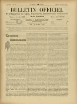 BULLETIN OFFICIEL DE L'EXPOSITION DE LYON, Deuxième Année - N°39