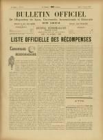 BULLETIN OFFICIEL DE L'EXPOSITION DE LYON, Deuxième Année - N°40