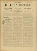 BULLETIN OFFICIEL DE L'EXPOSITION DE LYON, Deuxième Année - N°42