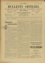 BULLETIN OFFICIEL DE L'EXPOSITION DE LYON, Deuxième Année - N°46