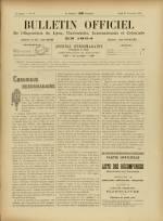 BULLETIN OFFICIEL DE L'EXPOSITION DE LYON, Deuxième Année - N°48